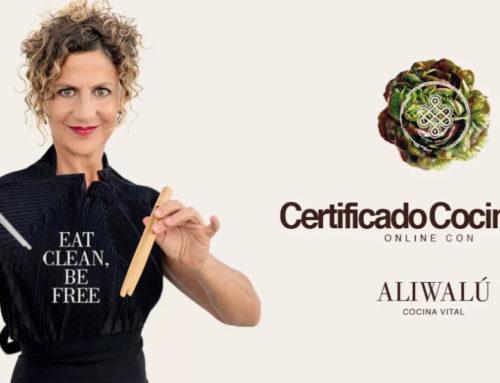 Certificado Cocina Vital Online con Aliwalú curso cocina vital
